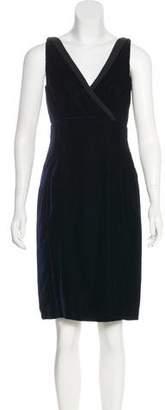 Prada Velvet Knee-Length Dress