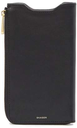 Skagen Lilli 6 Plus Leather Phone Wallet
