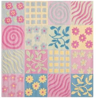 Safavieh Kids Tiana Hand-Tufted Area Rug or Runner, Pink/Multi