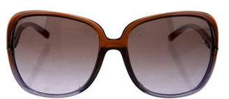Burberry Oversize Gradient Sunglasses