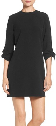 Women's Charles Henry Woven Shift Dress $88 thestylecure.com