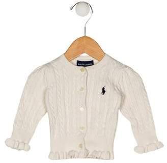 Ralph Lauren Girls' Cable-Knit Cardigan