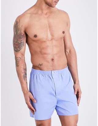 Zimmerli Woven cotton boxer shorts
