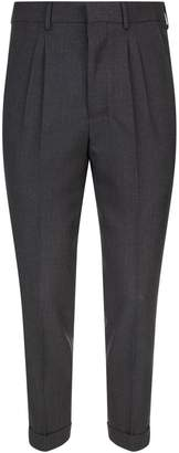 Ami Paris Tailored Crop Trousers