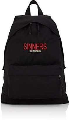 Balenciaga Men's Classic Backpack - Black
