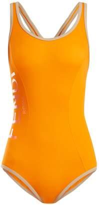 Fendi Racerback performance swimsuit