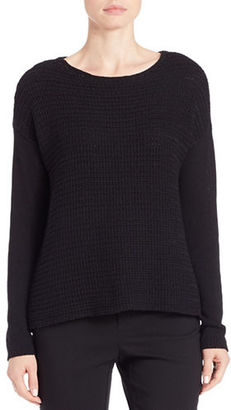 Lord & Taylor Loose-Knit Sweater $94 thestylecure.com