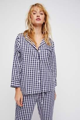 Sleepy Jones Marina Pajama Top