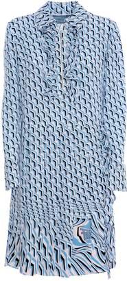 Prada Slik Printed Dress