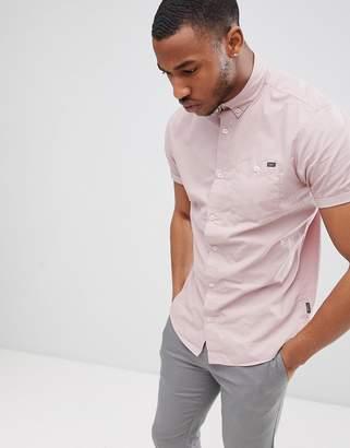 Jack and Jones Originals Short Sleeve Cotton Shirt