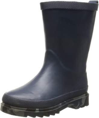 Western Chief Camo Sole Solid Rain Boot (Toddler/Little Kid/Big Kid), Navy
