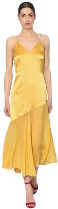 Racil SILK SATIN & CHIFFON DRESS