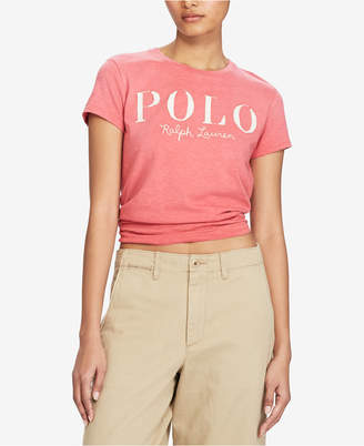 Polo Ralph Lauren Graphic-Print Cotton T-Shirt