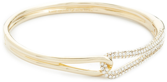 Kate Spade New York Get Connected Pave Loop Bangle $88 thestylecure.com