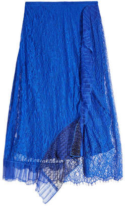 3.1 Phillip Lim Skirt with Lace and Mesh