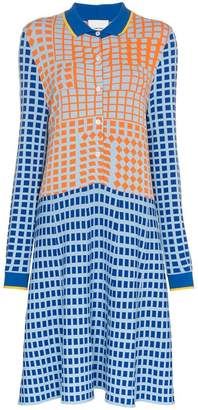 DAY Birger et Mikkelsen I Am Chen colour block patterned shirt dress