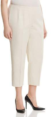 Lafayette 148 New York Plus Lexington Cropped Pants