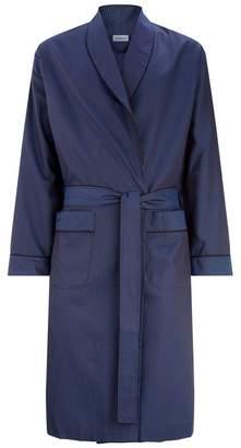Zimmerli Cotton Geometric Robe