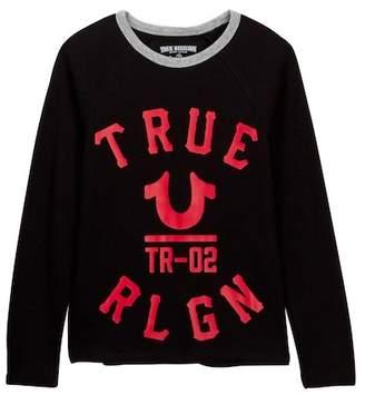 True Religion Varsity Long Sleeve Thermal Tee (Big Boys)