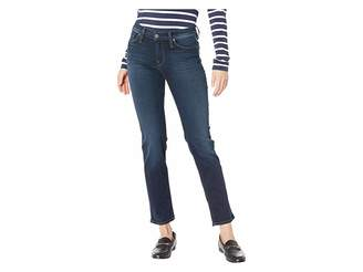Hudson Nico Mid-Rise Cigarette Jeans in Airline Clean (Airline