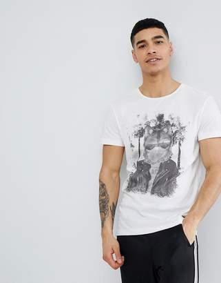 Blend of America Blend Indie Rocker Wolf T-Shirt