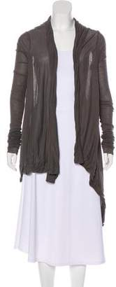 Rick Owens Draped Knit Cardigan