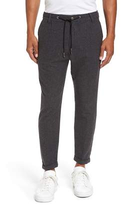 Eleventy Donegal Stretch Wool Jogger Pants