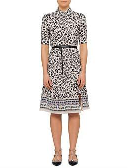 Altuzarra Kieran Silk Shirt Dress With Belt