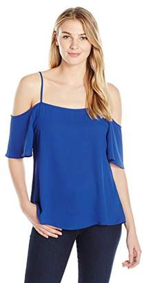 Lark & Ro Women's Short Sleeve Off The Shoulder Top
