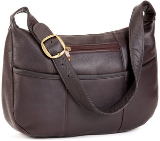 Le Donne Leather Quick Slip Shoulder Bag