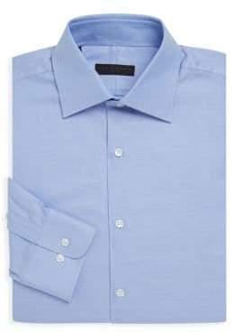 Ike Behar Casual Cotton Dress Shirt
