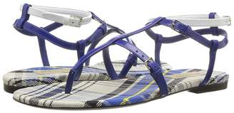 Burberry Vintage Check and Leather Sandals Women's Sandals