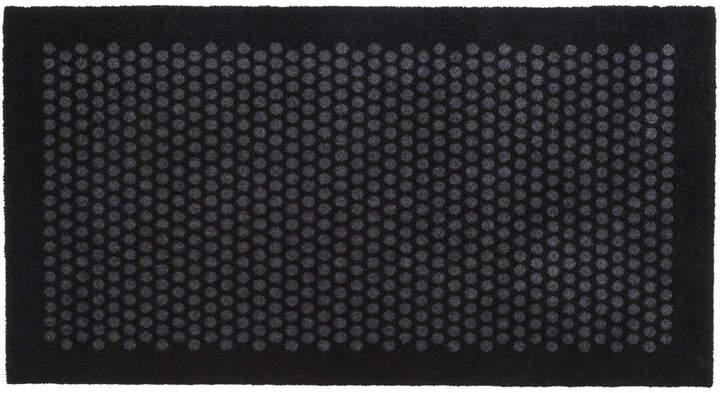 tica copenhagen - Dot Fußmatte, schwarz / grau, 67 x 120 cm