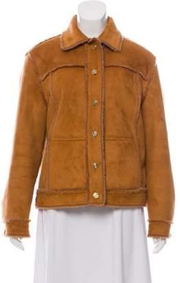 St. John Sport Faux Fur Oversize Jacket