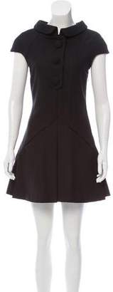Balenciaga Wool Mini Dress