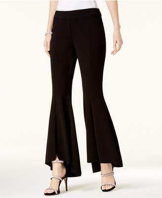 INC International Concepts I.n.c. Petite Tulip-Hem Flare Pants, Created for Macy's