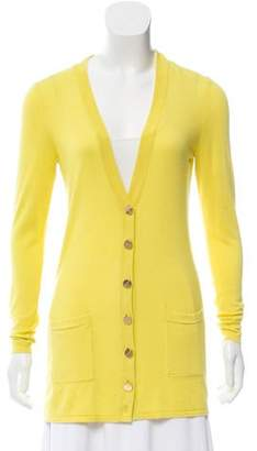 Magaschoni Silk Knit Cardigan