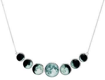 Moon Phase Bib Necklace
