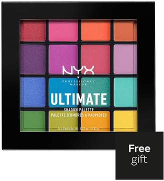 NYX Ultimate Shadow Palette - Brights