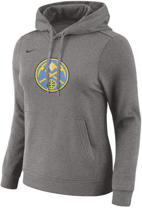 Nike Women's Denver Nuggets Logo Hooded Sweatshirt
