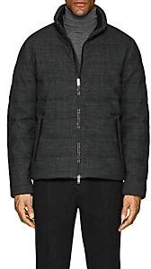 D'Avenza Men's Down Puffer Coat - Gray