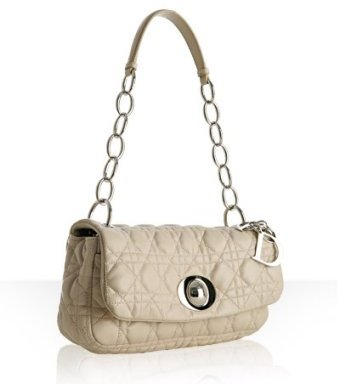 Christian Dior stone quilted cannage lambskin small shoulder bag