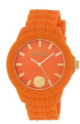 Versace Women's Silicone Strap Watch, 42mm