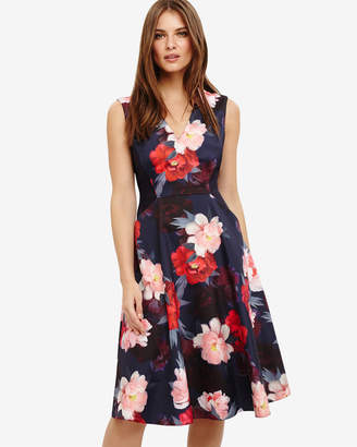 Phase Eight Elba Floral Fit and Flare Dress