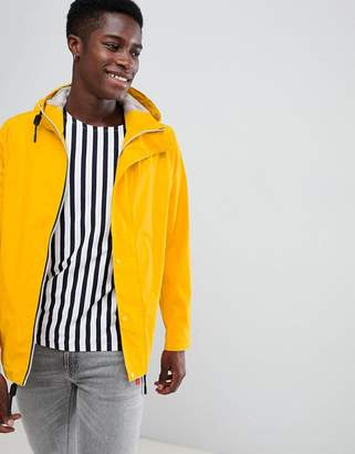 Hunter lightweight rubberised bomber in yellow