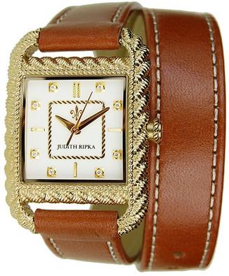 Judith Ripka Strap Wrap Watch - Goldtone