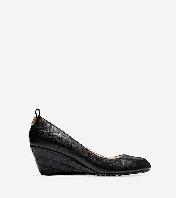 Cole Haan  Tali Grand Quilted Wedge (65mm)