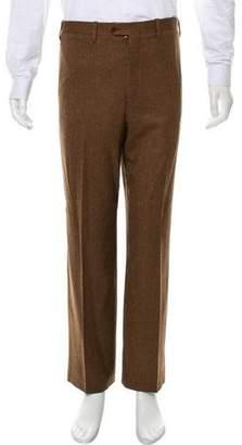 Kiton Wool & Cashmere-Blend Pants