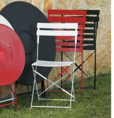 Set of Two Cafe Folding Chairs