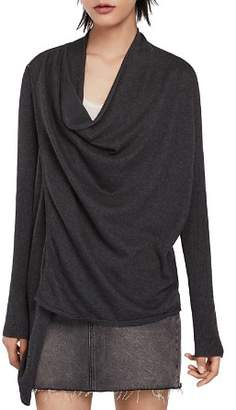 AllSaints Drina Draped Cardigan